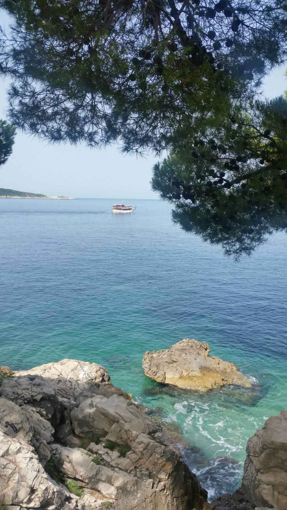 Croatia holiday much of the coastline is framed by pine forests