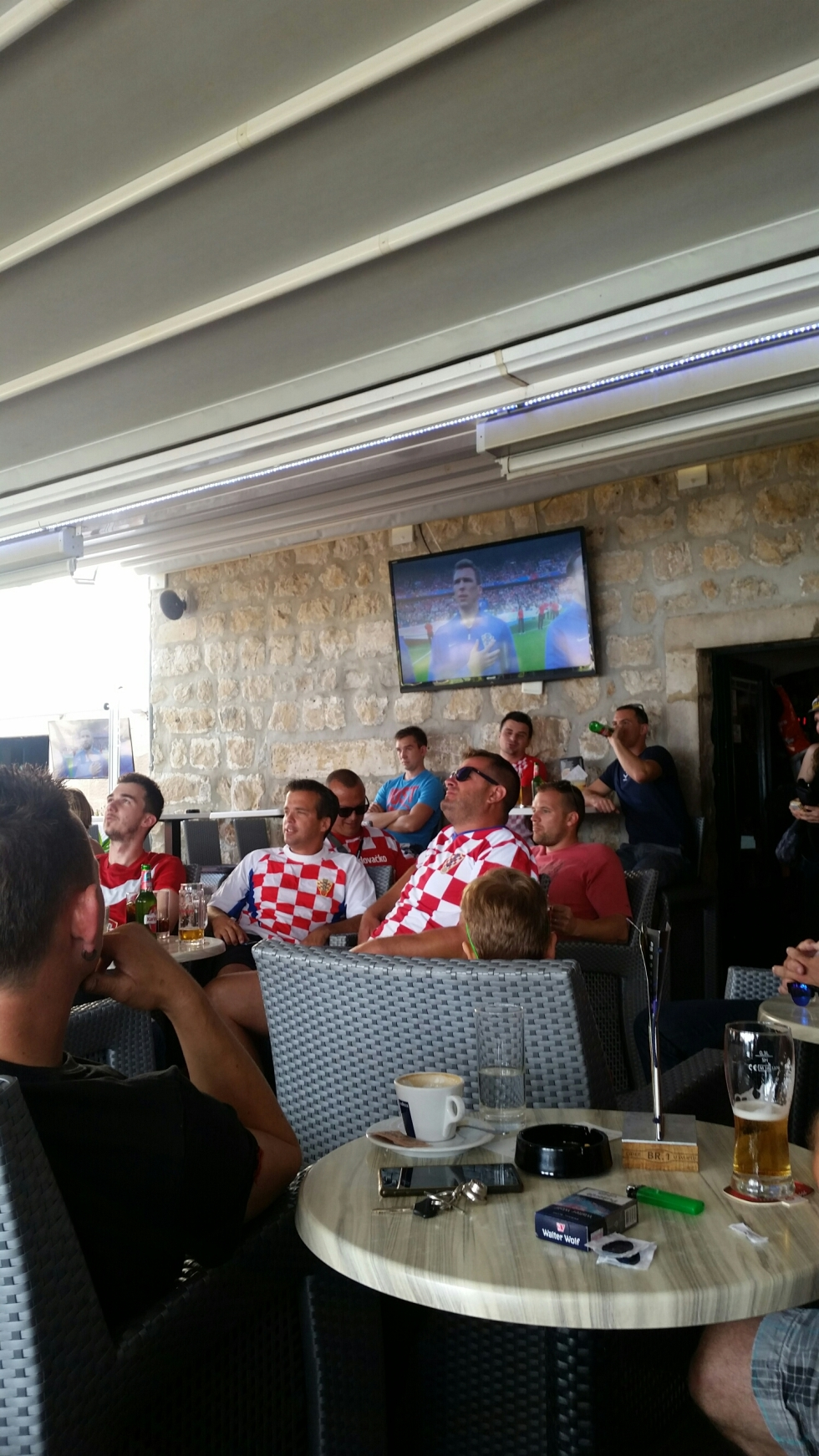 Croatia holiday Croatians are patriotic about their football team